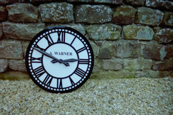 Large Exterior Clock for schools and houses