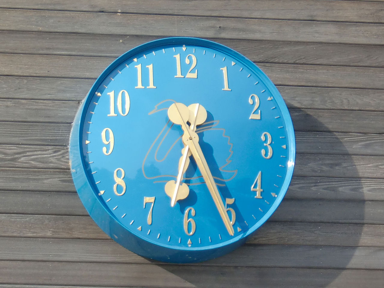 Large Exterior School Clock
