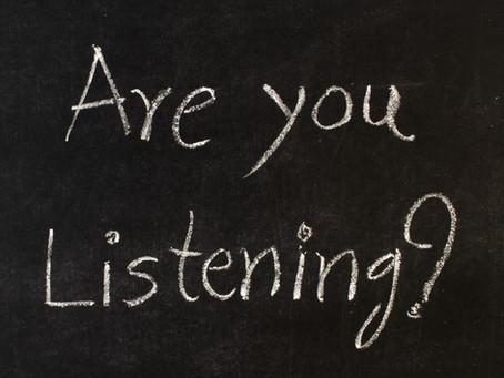 להקשיב