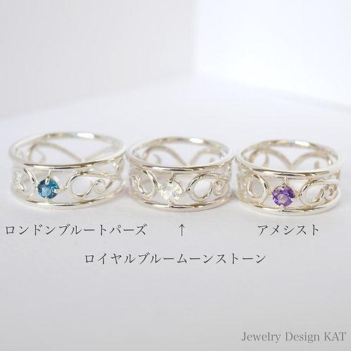 唐草の指輪(大)