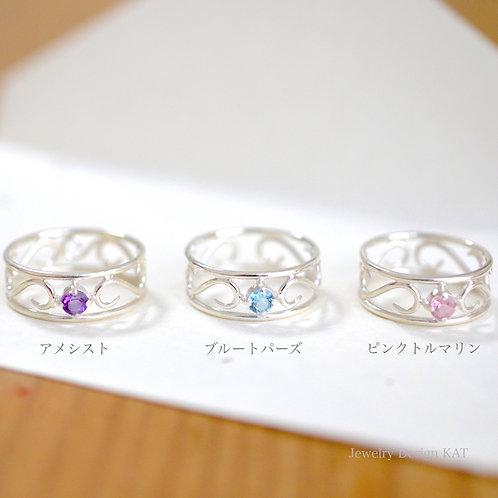 唐草の指輪(小)