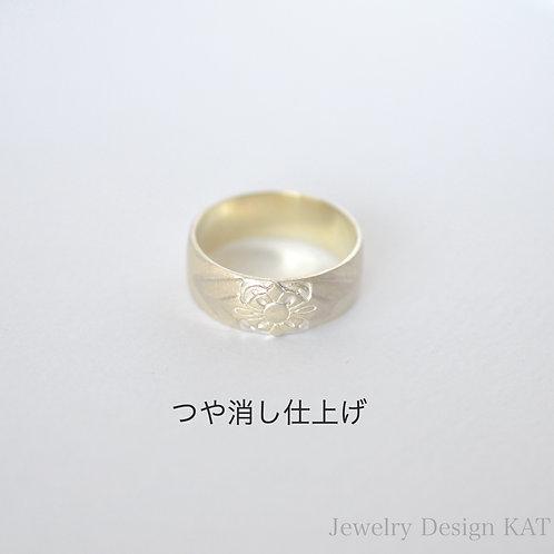 花飾りの指輪