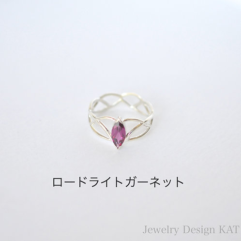 ティアラの指輪(Queen・石付き)