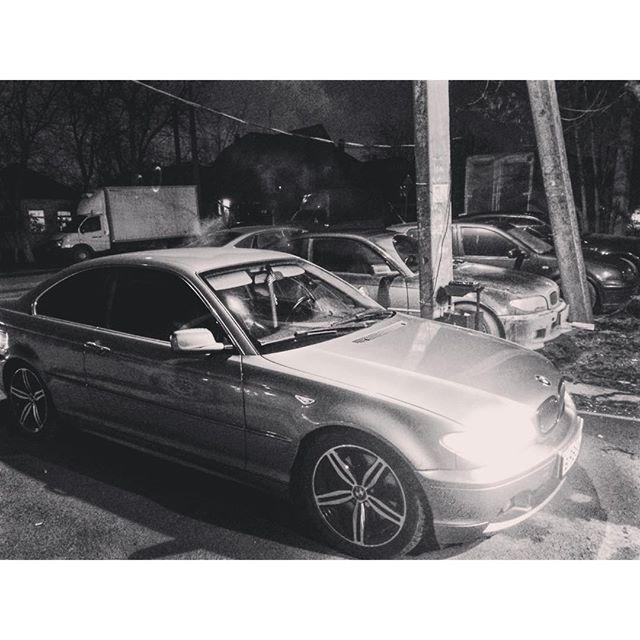 BMW E46 330 coupe заехал в гости промыть форсунки, поговорить о тюнинге))) Работаем со всеми марками