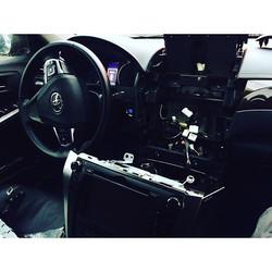 Замена штатной магнитолы Toyota Camry 2014