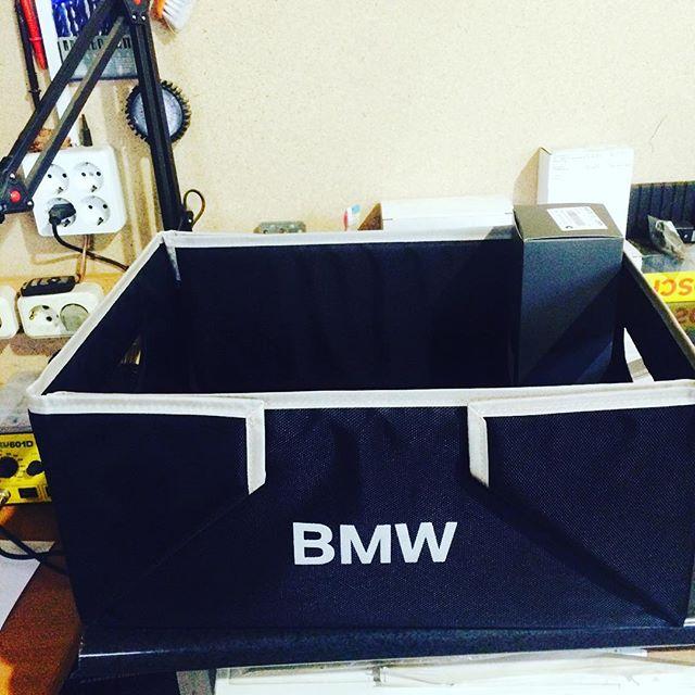 Получил вот такой ящик для багажного отделения BMW