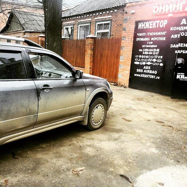 Первый утренний клиент)), с мелкими проблемами по электрике._Работаем со всеми марками автомобилей._