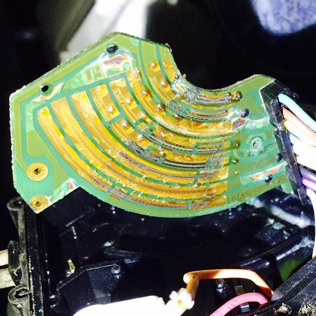 Еще один любитель помыть двигатель, прогнил датчик положения акпп