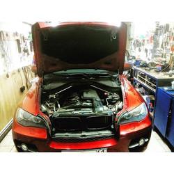 Диагностика системы впрыска BMW X6, под замену три катушки и задние лямбды. _Работаем со всеми марка
