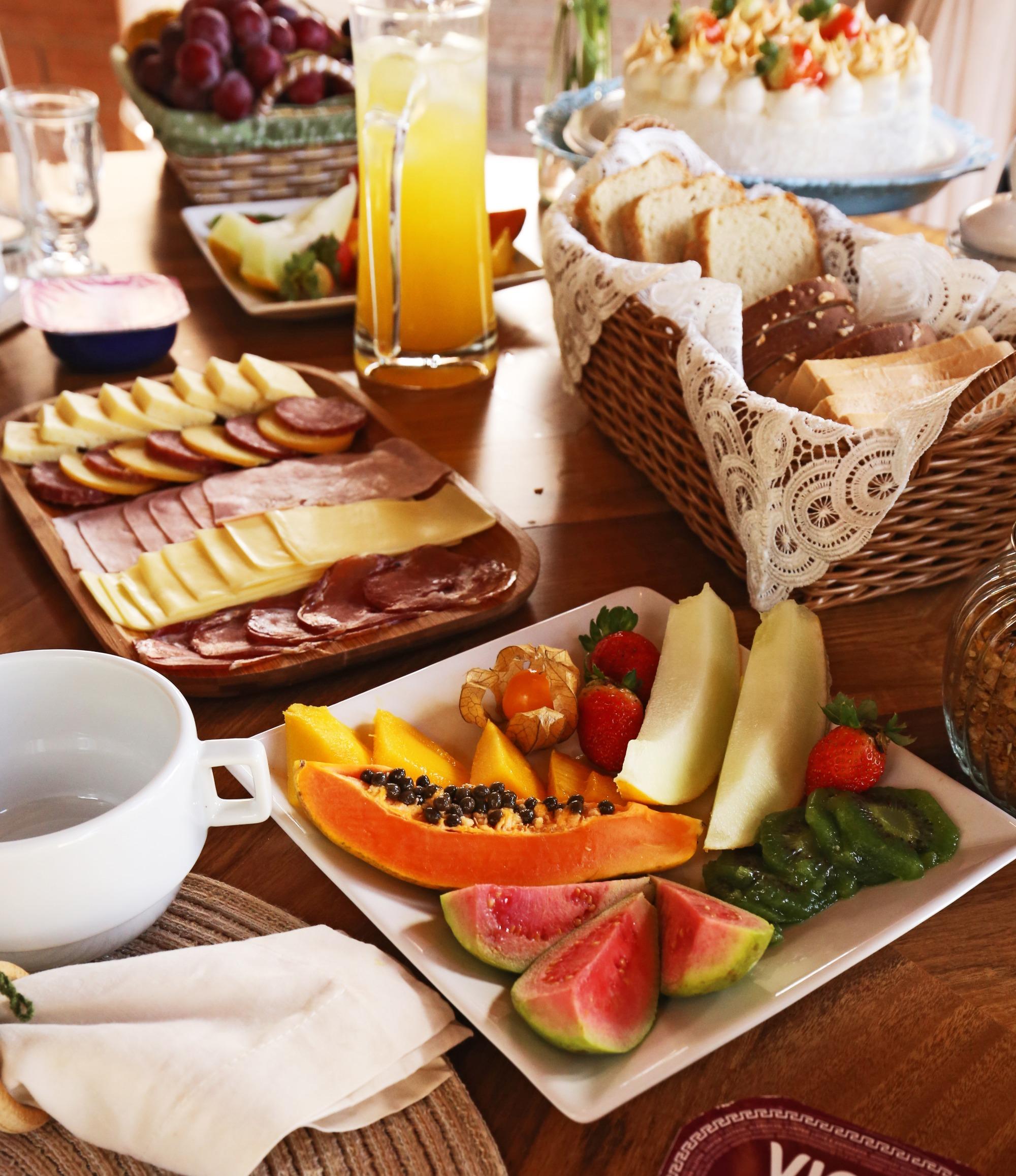 Café da manhã exclusivo