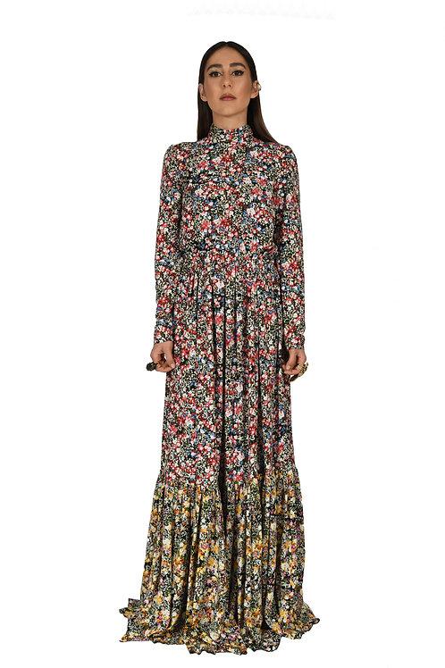 Maxi printed  dress
