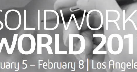 Join us @ Solidworks 2017 Feb 5-8 in LA