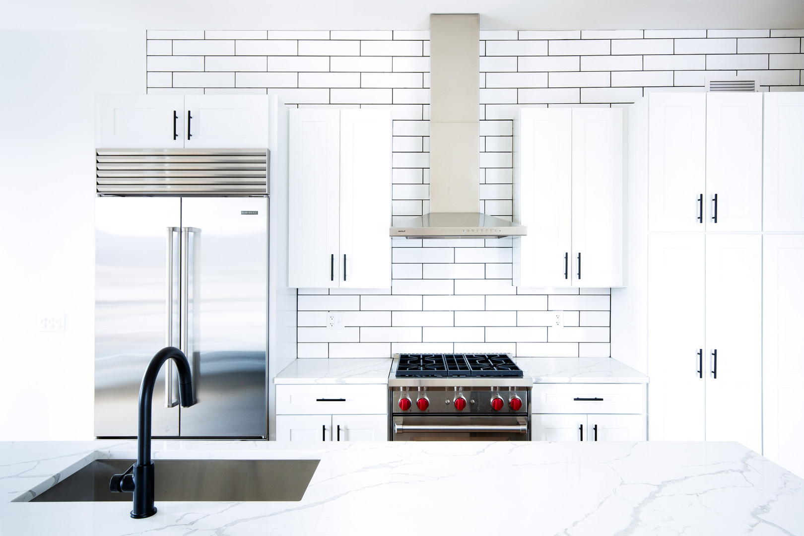 Penthouse kitchen detail