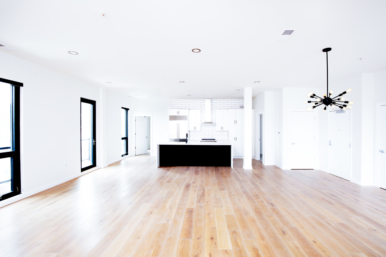 Penthouse main living area
