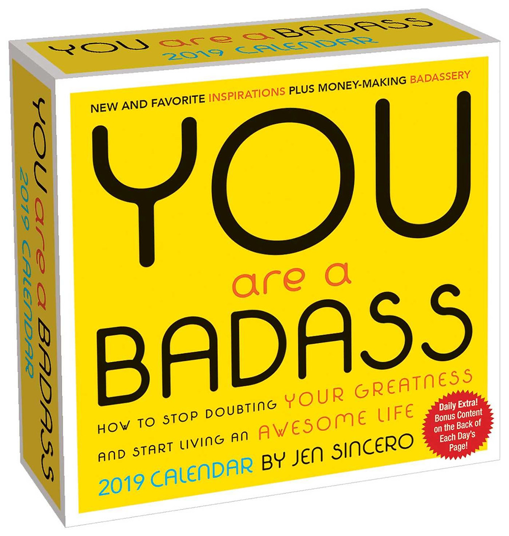 You Are Badass Calendar