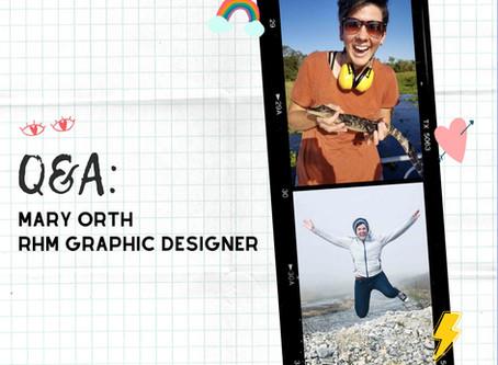 Q&A: Mary Orth, Graphic Designer Extraordinaire