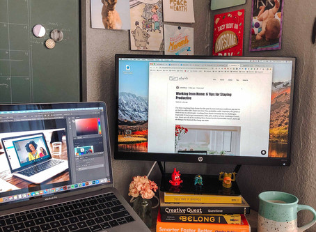 Working from Home: 6 Tips for Staying Productive