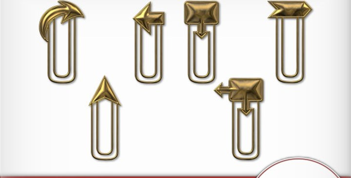 Arrow Clip Scrapbooking Kit
