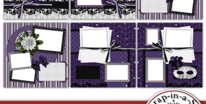Masquerade Party SIAS Album 1 Digital Scrapbooking