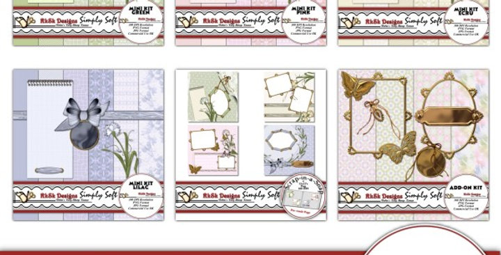 Simply Soft Scrapbooking Kit