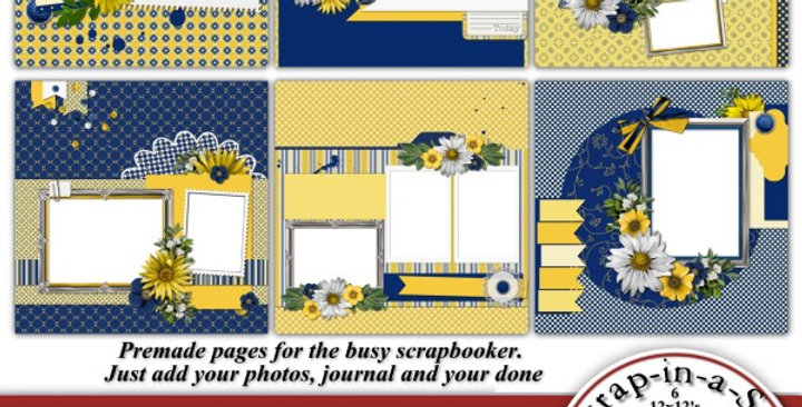 Daisy Love SIAS Album 5 Digital Scrapbooking