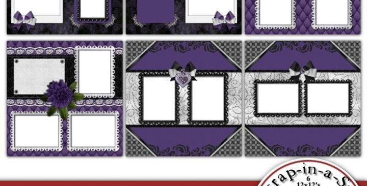 Masquerade Party SIAS Album 4 Digital Scrapbooking