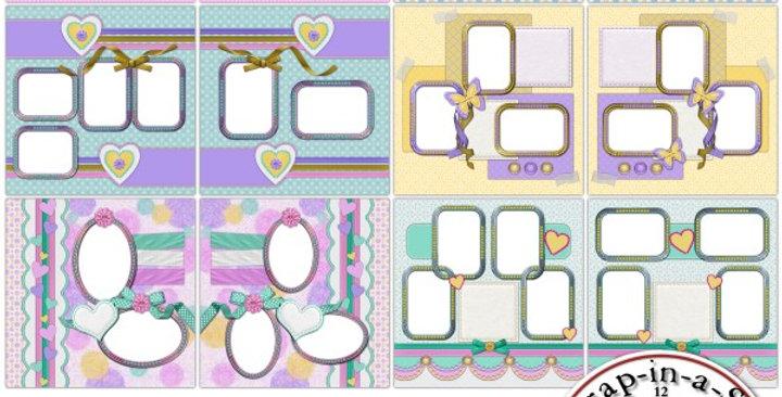 Pretty Pastels SIAS Album1 Digital Scrapbooking