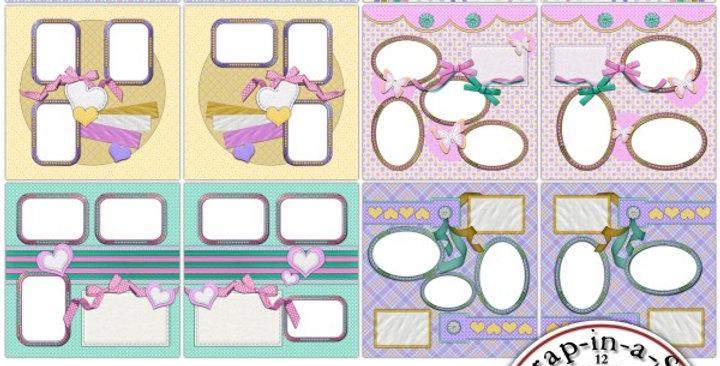 Pretty Pastels SIAS Album 2 Digital Scrapbooking