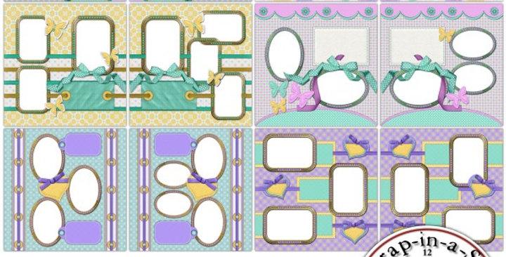 Pretty Pastels SIAS Album 4 Digital Scrapbooking