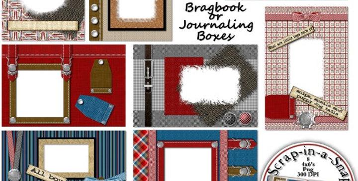 Boyz to Men Brag Book Album Digital Scrapbooking