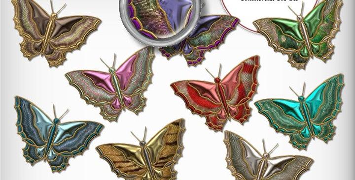 Butterfly 1 Embellishment Scrapbooking Kit