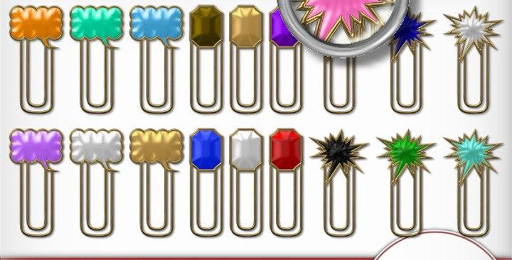 Novelty Clip Pack2 Scrapbooking Kit