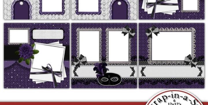 Masquerade Party SIAS Album 3 Digital Scrapbooking