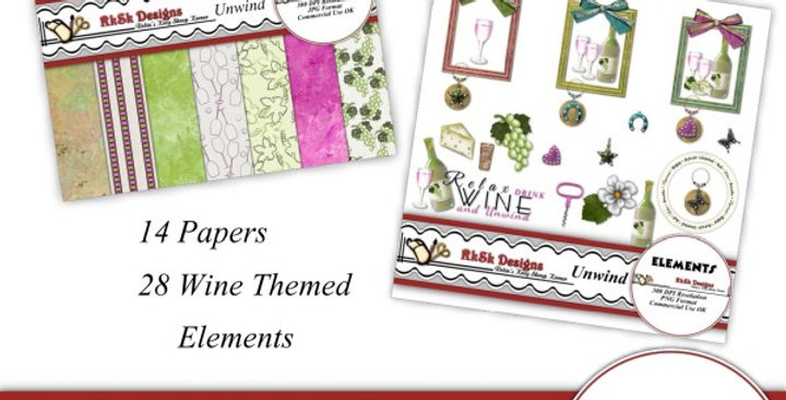Unwind Mini Scrapbooking Kit