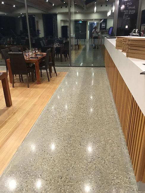polsihed concrete floor