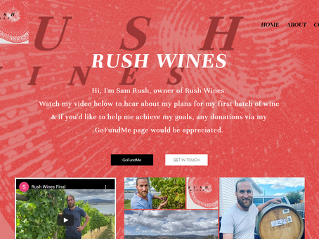 RUSH IN TO CHECK OUT NEW LOCAL WINEMAKERS WEBSITE