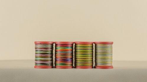 Rainbow Polyester Thread