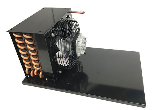 """Condenser Set With Fan and Base for 1/3 HP Unit, Overall Height 10"""""""