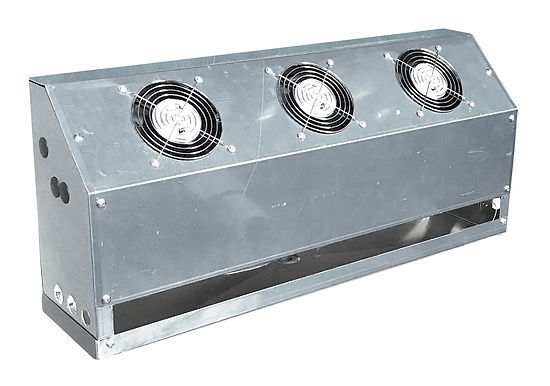 Back Bar Cooler Evap Fans, 2,300 BTU, 360 CFM