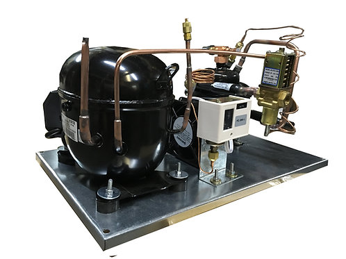 Water-Cooled QT AJA2419ZXA, 1/2 HP Low Temp  R404A, 115V