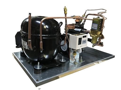Water-Cooled QT AKA9462ZXA Unit 3/4 HP, R404A 115V/1PH