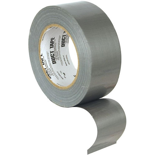 Wide Duct Tape, Indoor Silver General Purpose (60 yd.)