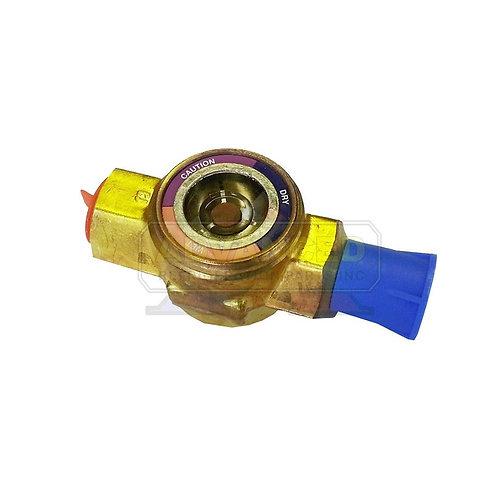 """Sight Glass Moisture Indicator 3/8"""" Male X 3/8"""" F"""
