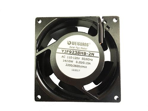 High Speed YJF9238HB Cooling AC, 2,200/2,600 r/min 120V