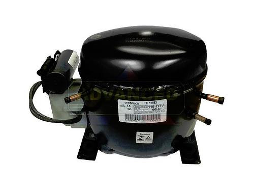 Embraco FFI12HBX High/Mid Temp Compressor, 1/3+ HP, R134a 115V