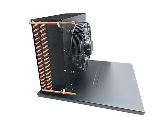 Cond F Coil, Fan and Base for 2.5 HP Unit (220V)