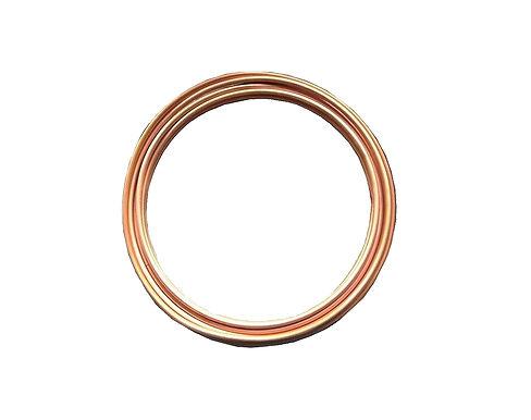 "Copper Tubing HVAC Grade 3/4"" OD (50 Ft)"