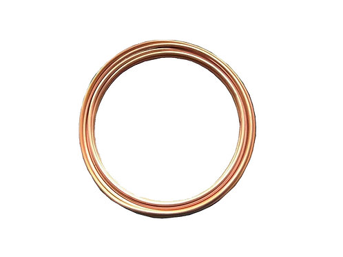 "Copper Tubing HVAC Grade 1/2"" OD (50 Ft)"