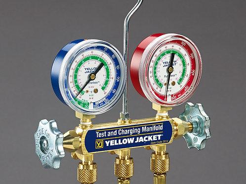 Yellow Jacket Manifold w/60″ Hose R134a/404A