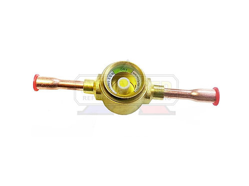 "Liquid Moisture Indicator Sight Glass 3/8"" ODF"